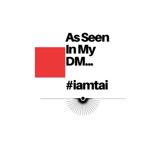 As seen in my DM is a one off post by iamtai, well todays edition is beauty routine centered. Enjoy the flow on this wet Friday morning post by Tai.